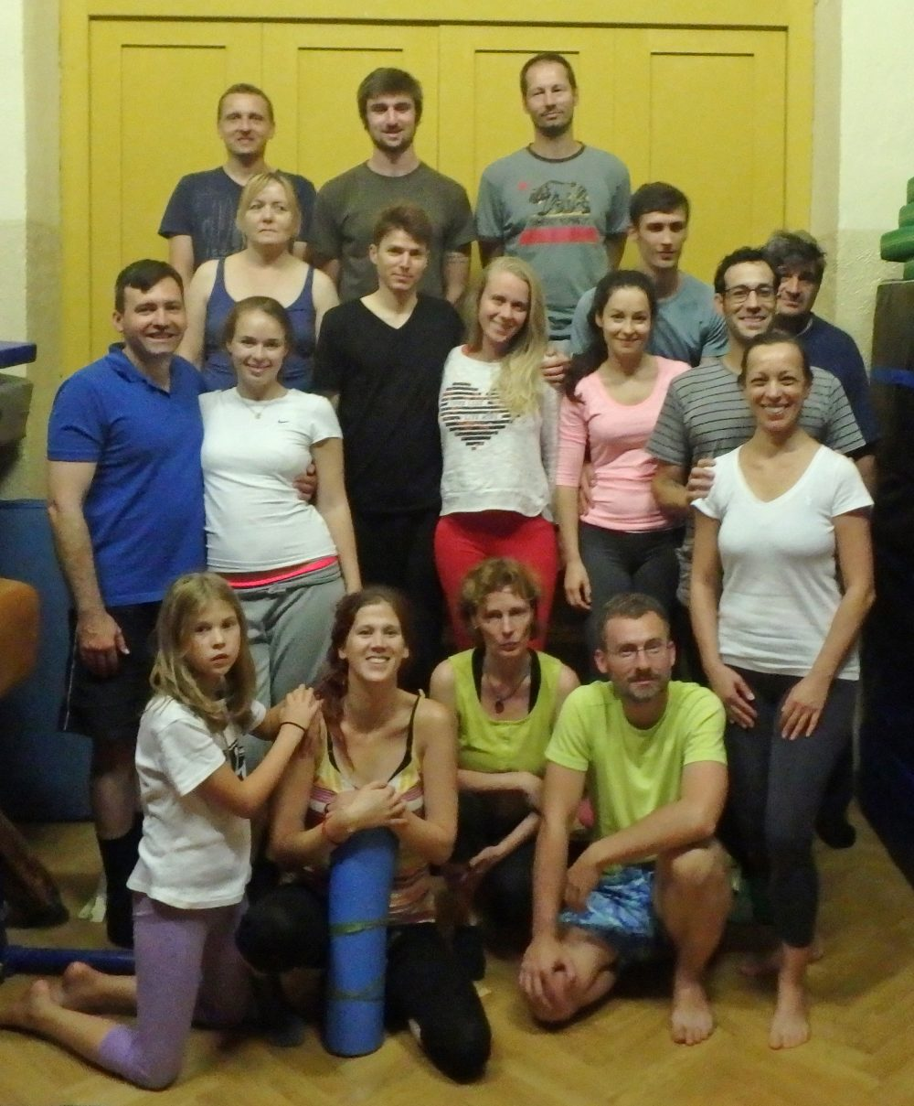Introduction to Yantra Yoga with Jeff Sable from September 17-18, 2016 in Prague, Czech Republic