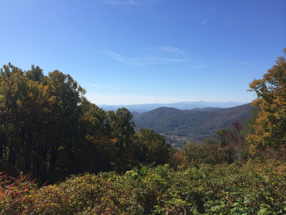 Beautiful Blue Ridge Mountains