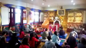 Yantra Yoga Open Course at the Library of Tibetan Works and Archives, Dharamsala, India