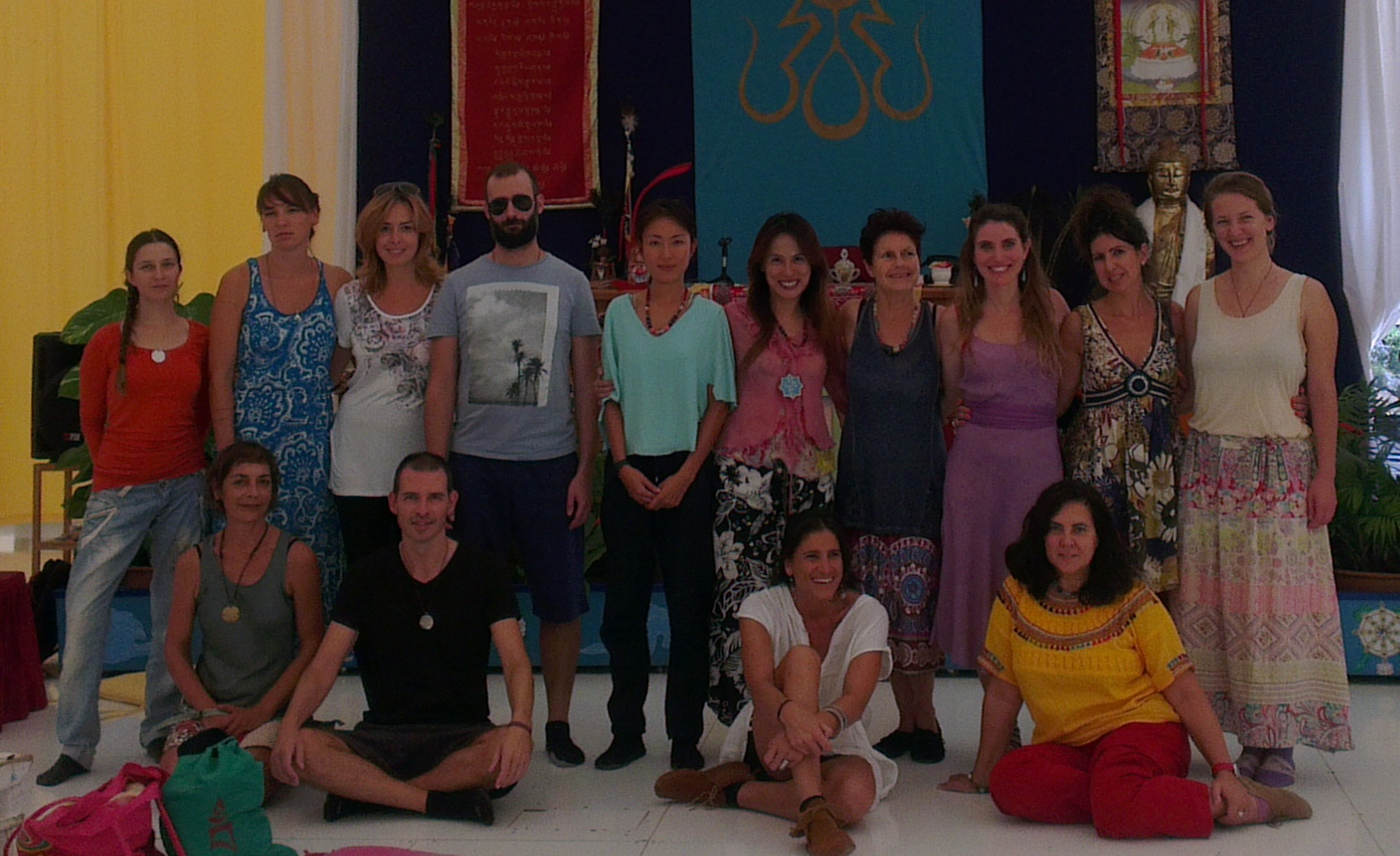 The Dance of the Three Vajras Supervision Course with Adriana Dal Borgo from November 4-6, 2016 at Dzamling Gar.