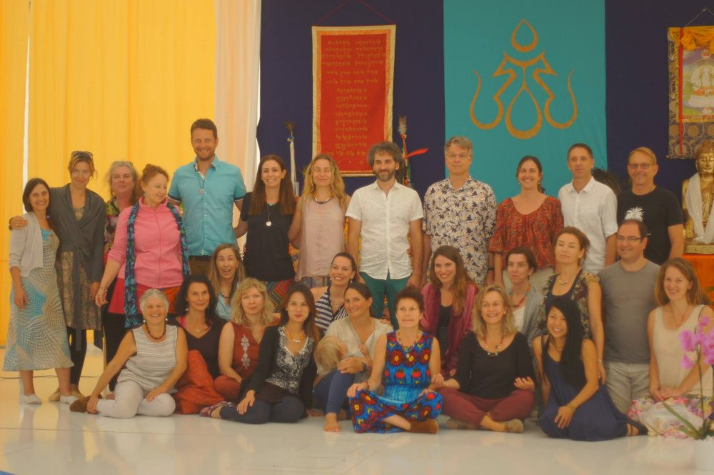 Vajra Dance Teacher Training, 2nd level, with Adriana Dal Borgo and Prima Mai from November 18-24, 2016 at Dzamling Gar, Tenerife, Spain