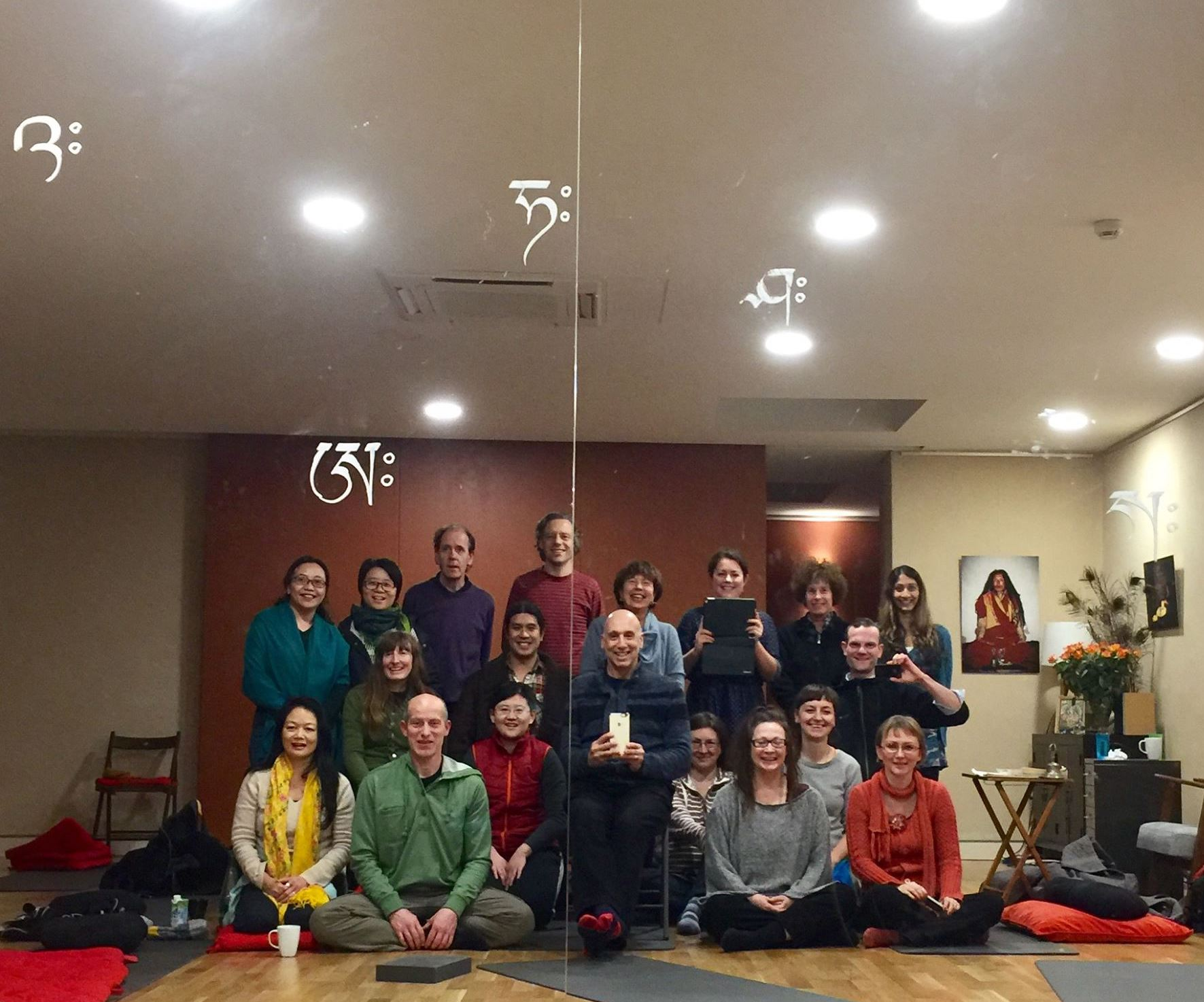 Cycle of Day and Night group with Michael Katz from December 9th - 11th, 2016 in London, UK.