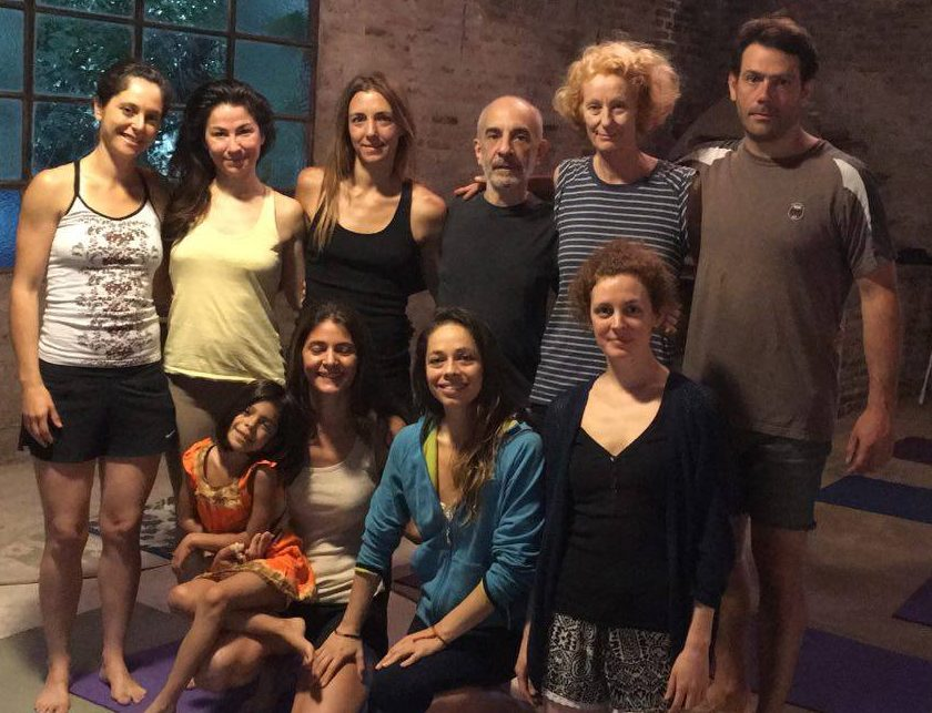Yantra Yoga Beginners Course at Campo Las Liebres , Buenos Aires with Leticia Receptor from November 17 to 18, 2016.