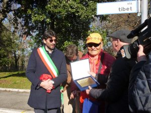 Via Tibet Inaugurated in Arcidosso