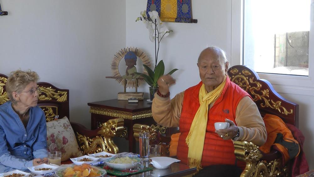 Tibetan Room & Samtengar House at Dzamling Gar