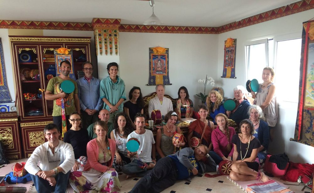 Course on Chöd with Stephen Landsberg in the Samtengar House at Dzamling Gar from February 17-19, 2017