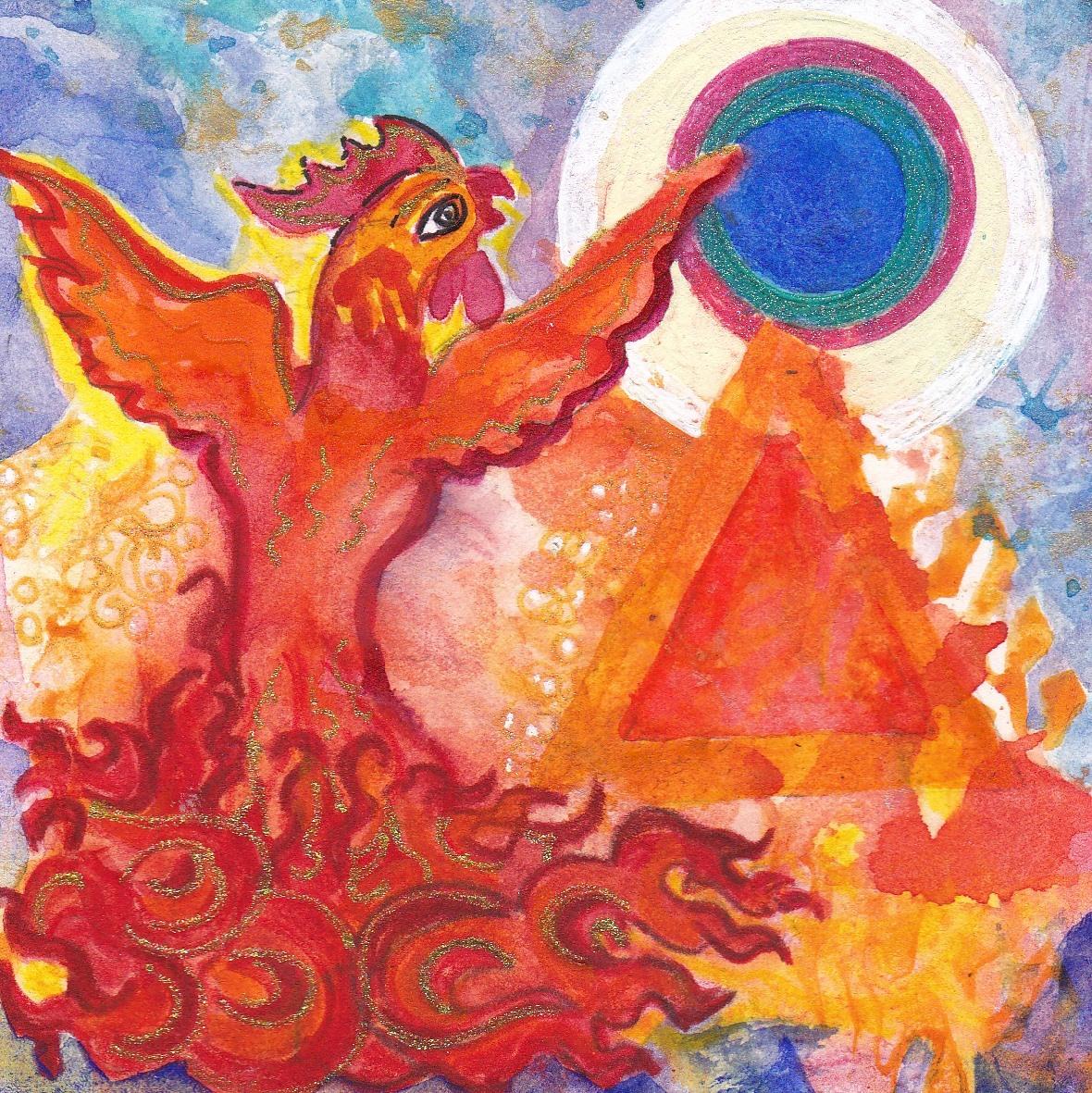 Firebird by Ingmar Pema Dechen