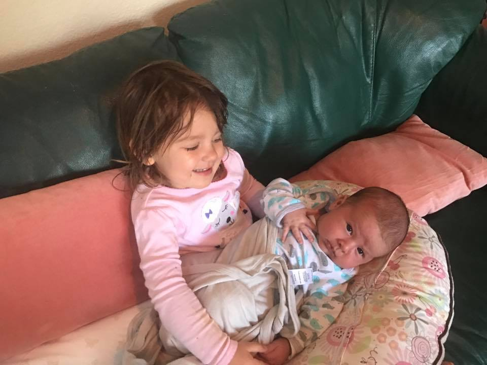 Kai and his big sister Varya