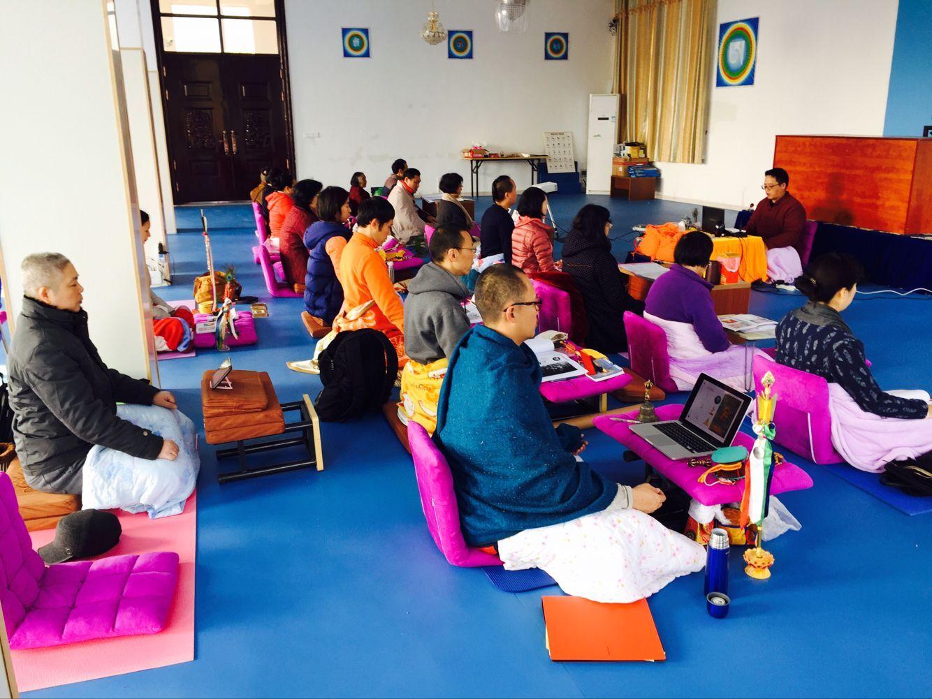 Courses  at Samten Gar Yichun Center