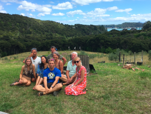 Santi Maha Sangha Base Level Retreat on Waiheke Island, Yandakling, New Zealand
