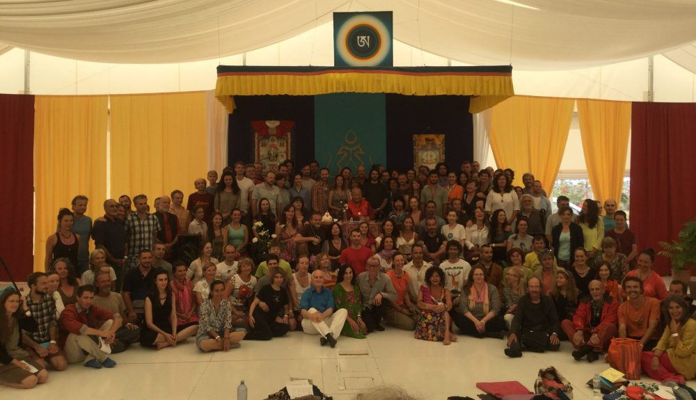 Santi Maha Sangha Level One Training, Dzamling Gar, April 7 - 14, 2017