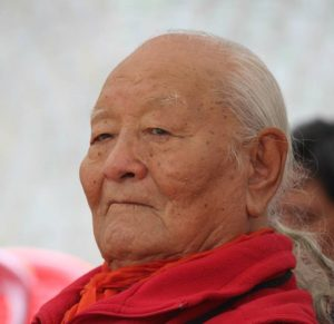 December 7, 2019 A Remembrance Ceremony for Chögyal Namkhai Norbu at Dorzong Institute, India