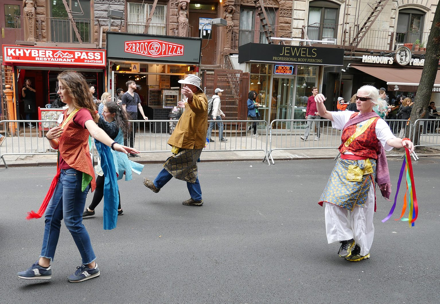 Khaita in the NYC Dance Parade