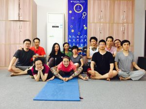 Yantra Yoga Series I & II at Samtengar, China