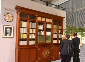 reopening IsIAO library