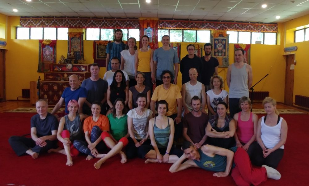 Second Level Yantra Yoga Advanced and Teacher Training Course with Laura Evangelisti and Fabio Andrico at Kunsangar in Russia from July 10-17, 2017.