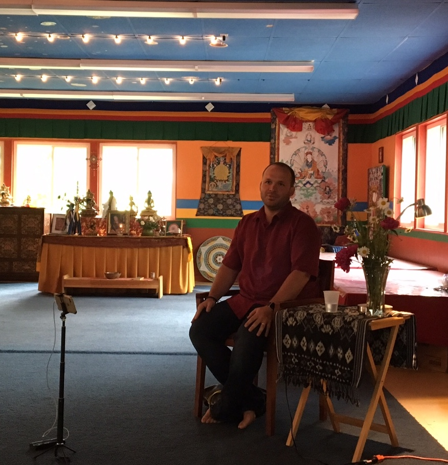 Public talk on Tibetan Medicine - Matt Schmookler