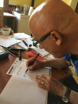Tibetan Calligraphy Course Merigar West