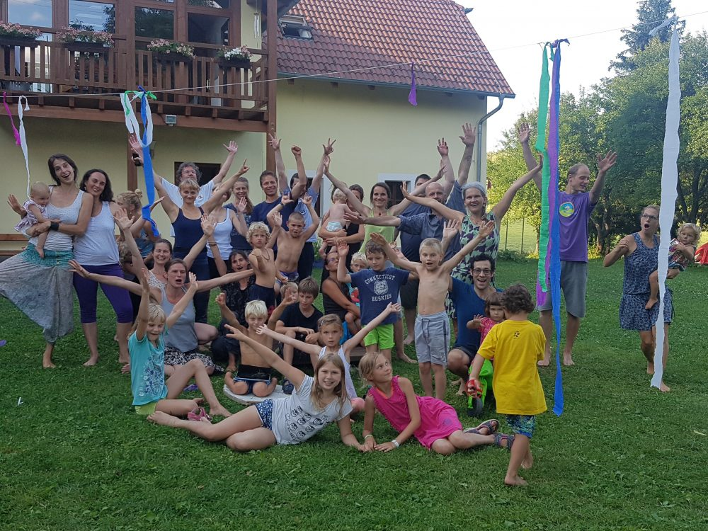 Yantra Yoga Summer in Phendeling, Czech Republic