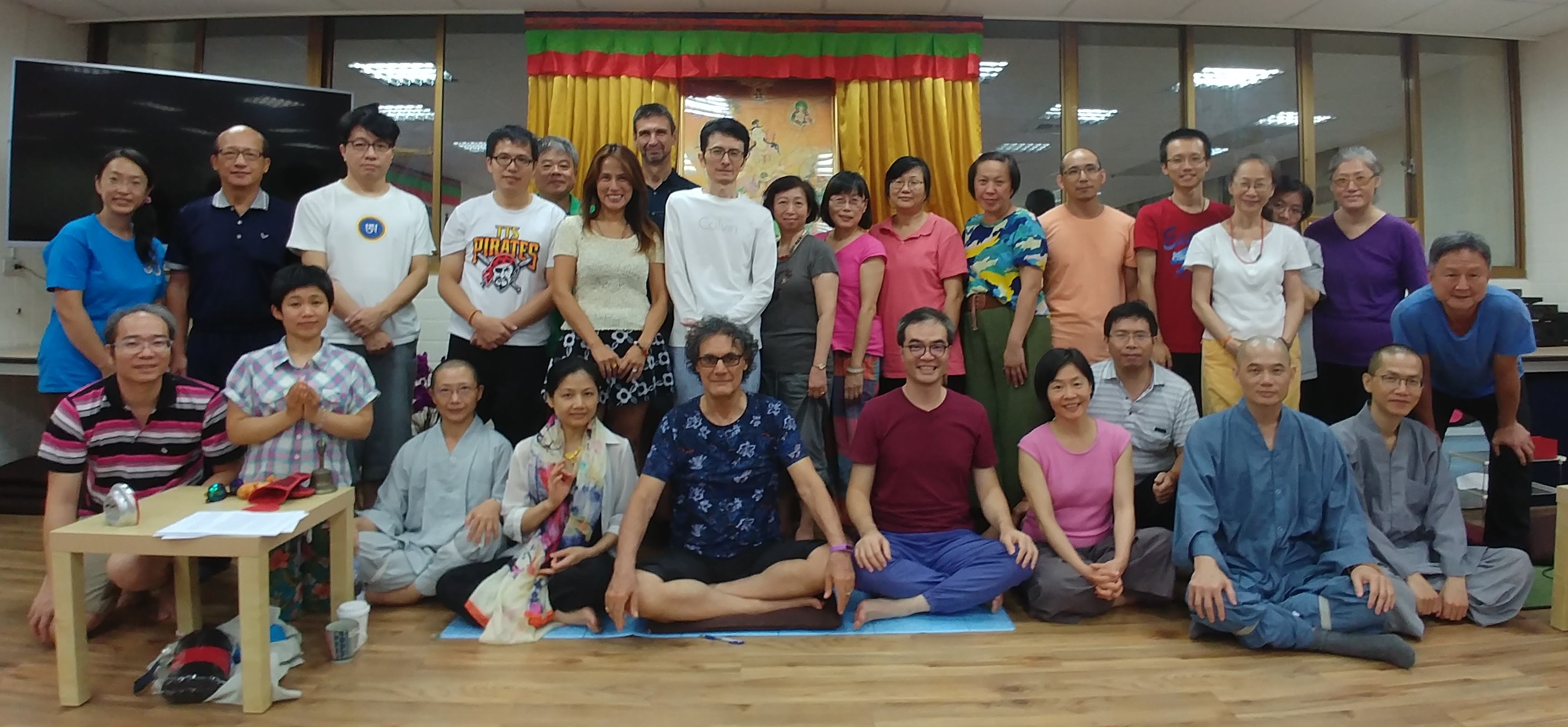 Mandarava Tsalungs with  Fabio Andrico August 18-21, 2017 at Ghepeling, Taiwan