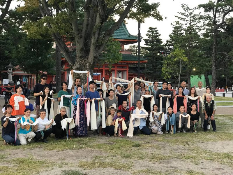 Munselling Japanese Sangha Retreat in Kyoto