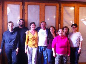 Kunye Tibetan Massage Graduates at Karmaling, France