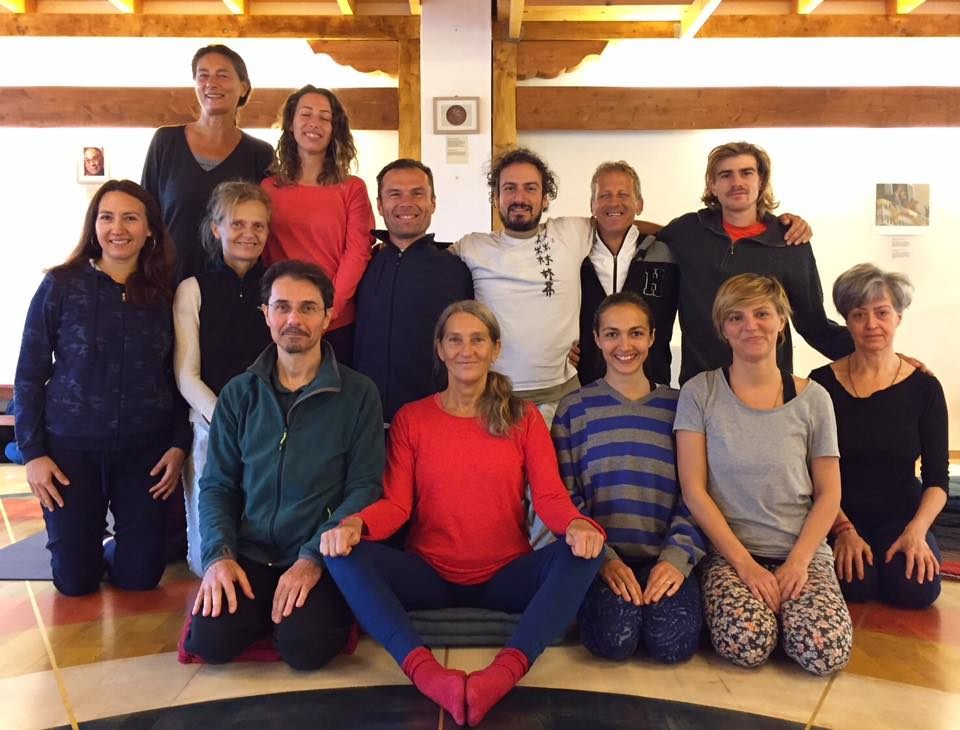 Fourth and Fifth Series of Yantra Yoga with Laura Evangelisti for the supervision of Fulvio Grosso and Dina Priymak, October 27-29, 2017.