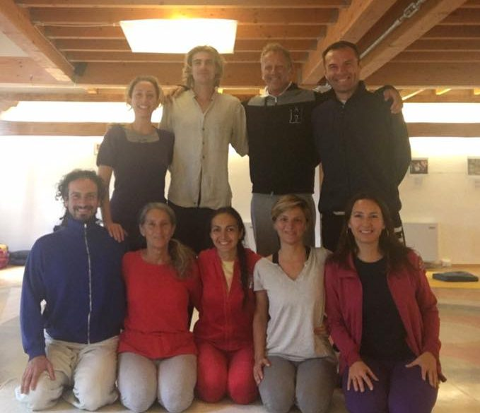 ThirdSeries of Yantra Yoga with Laura Evangelisti for the supervision of Dina Priymak, October 20-22, 2017.