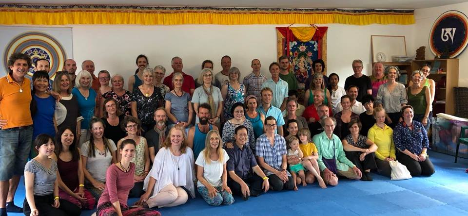 Namgyalgar Presence and Awareness Retreat November 2017