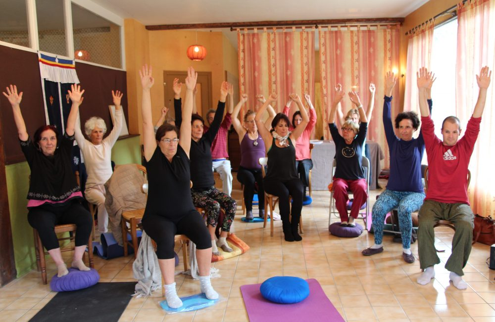 Harmonious Breathing and Yantra Yoga in France