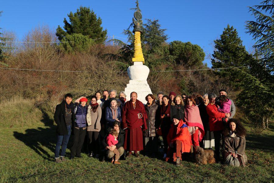 Khenpo visits Merigar West