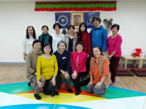 Course of The Vajra Dance That Benefits Beings in Taiwan Gephelling