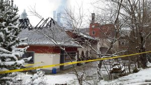 Fire at Shangpa Karma Ling Buddhist Center in Savoie, France