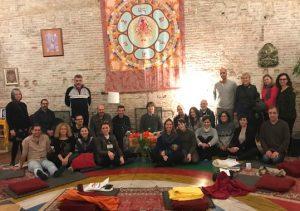 Santi Maha Sangha Base Course in Kundusling Barcelona