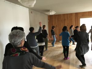 An Afternoon of Khaita Joyful Dances at 'Lo Spazio' near Milan