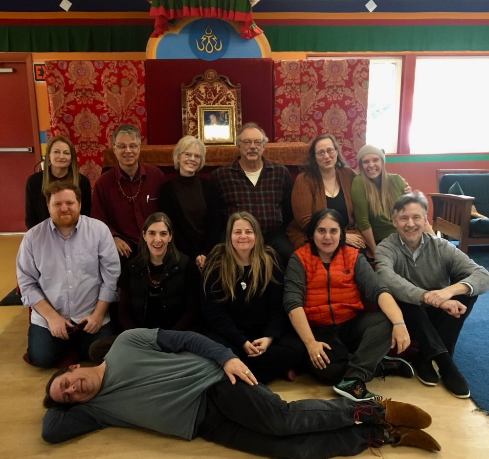 From January 6 to April 8, 2018, there was an ongoing introduction to the Vajra Dance of the Song of the Vajra with Bodhi Krause at Tsegyalgar East.