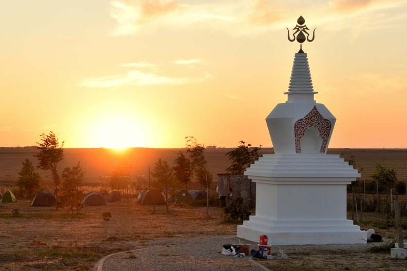Fund-raising for Finishing the Stupa and Camping Extension