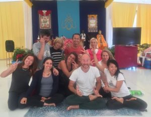 Yantra Yoga Variations at Dzamling Gar
