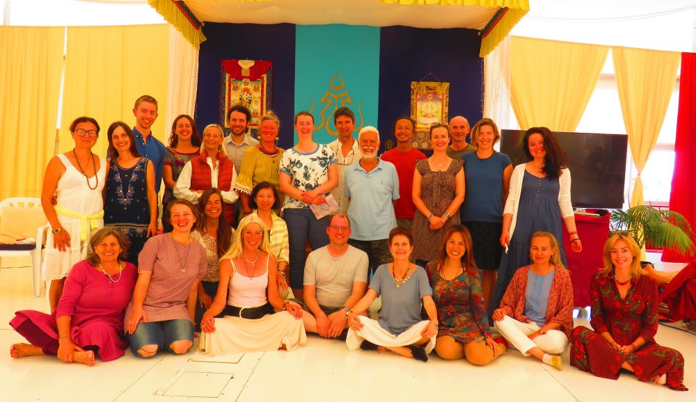 Supervision Course - Vajra Dance That Benefits Beings from May 4 - 6, 2018. Supervised instructor candidates: Tina Lo (Taiwan) and Maarten Shoon (Netherlands) with Adriana Dal Borgo.