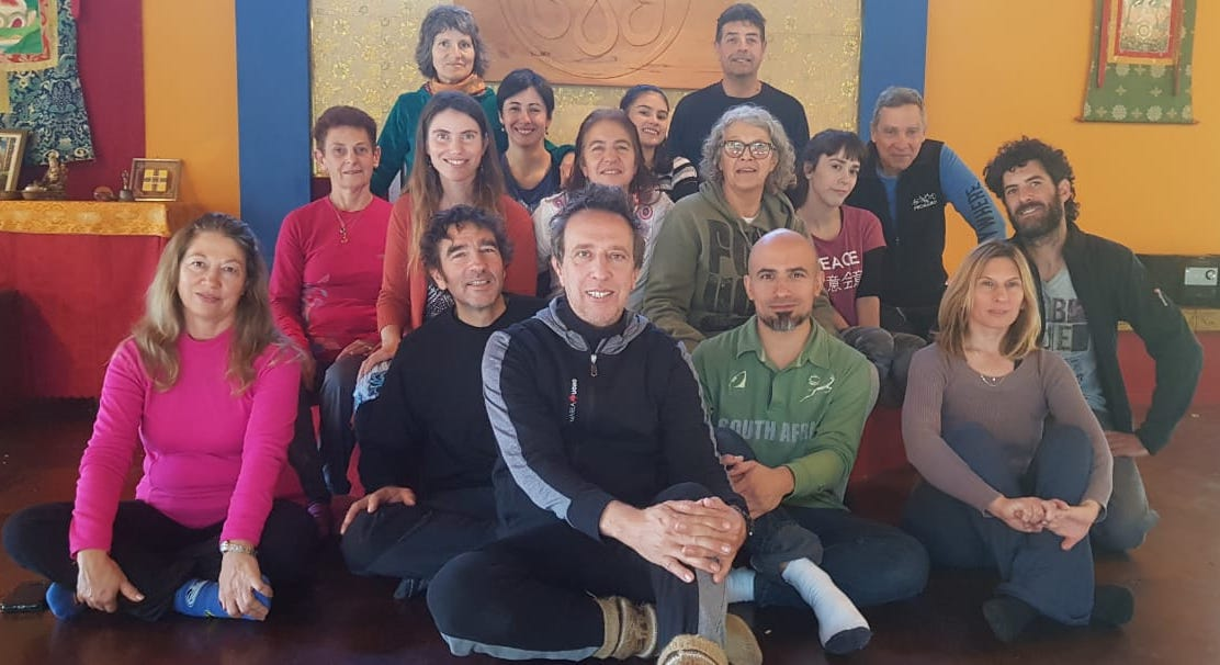 """Breathe - Meditate - Dance"". A course for beginners from May 25-27, 2018 in Tashigar South with Ricardo Sued, Carolina Mingolla and Alejandra Krasnogor"