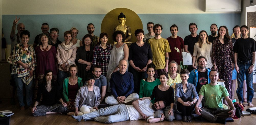 Santi Maha Sangha course on 7th Lojong was conducted by Steven Landsberg on May 4-6, 2018 in Karma Dechen Choling dharma center in Warsaw, Poland. Photos by Tymo Wojciechowsk