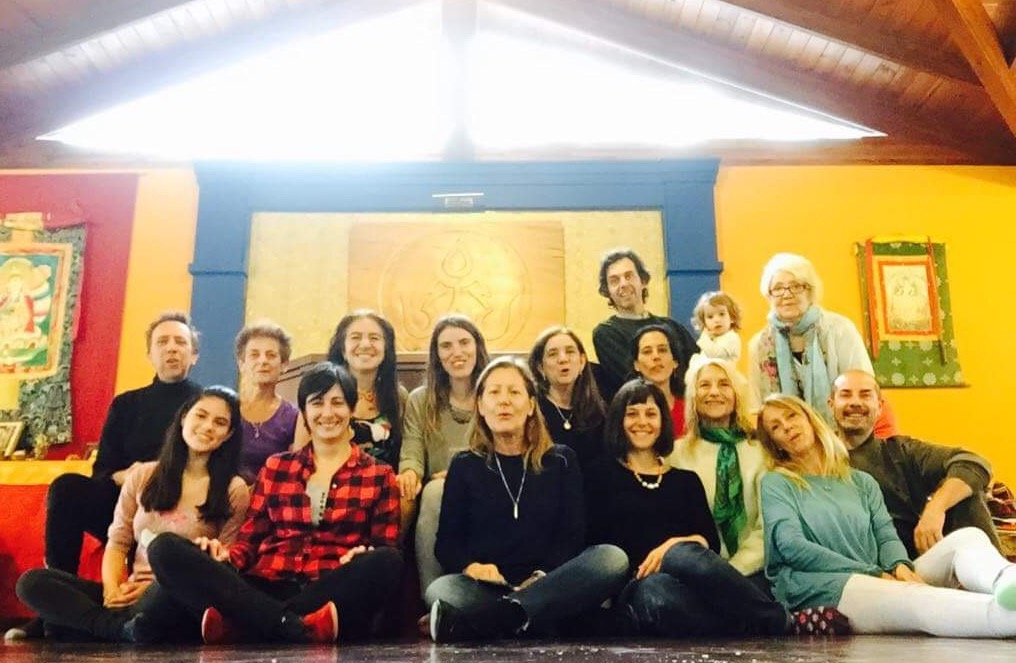 Workshop on Dzamling Gar Dance and Meaning with Alejandra Krasnogar on May 1st,  2018 at Tashigar South