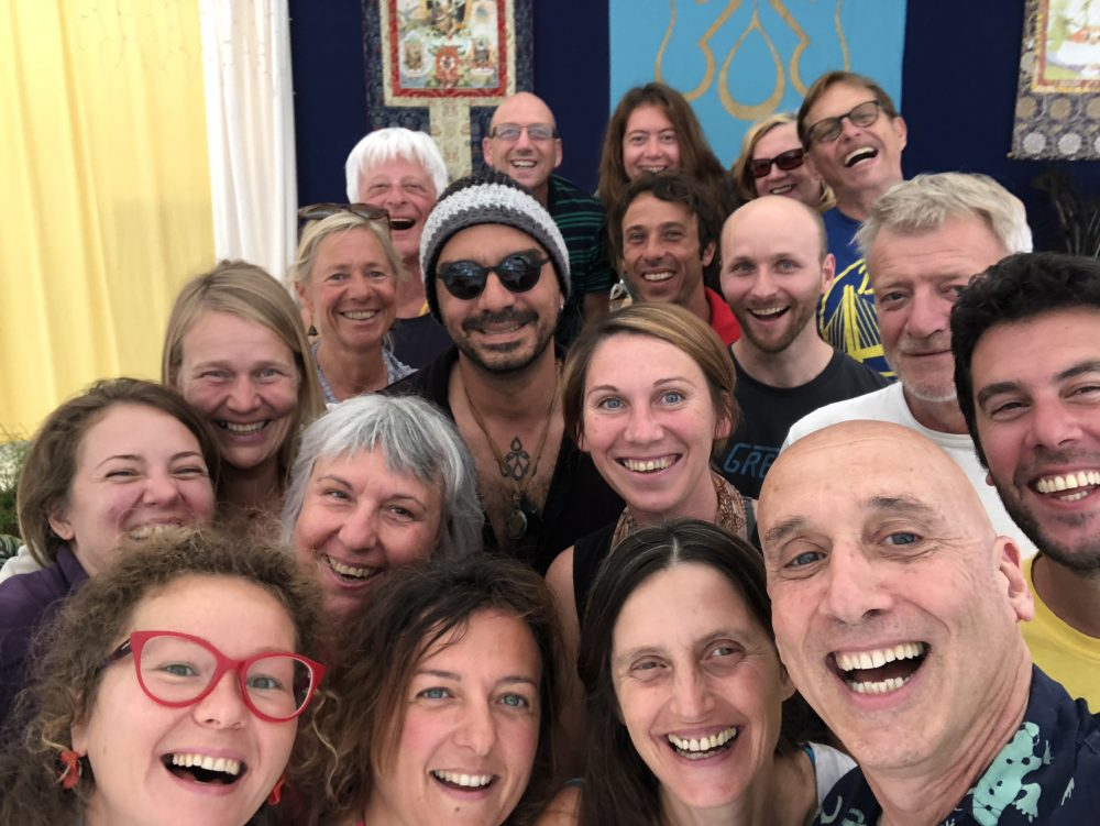 Semdzins of the Santi Maha Sangha Base with Michael Katz, June 9-10, 2018 at Dzamling Gar