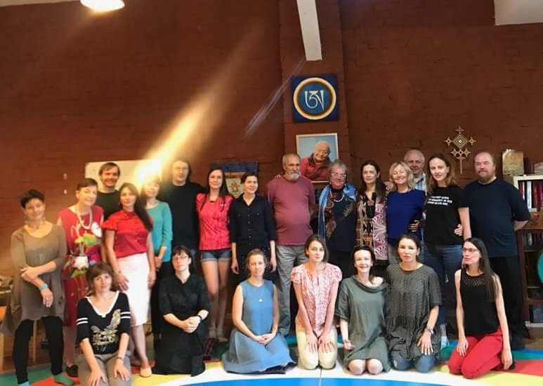 Deepening course of the Song of the Vajra with Stoffelina Verdonk, May 19-26 2018.