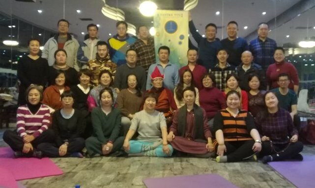 Haebin Courses May and June( the Vajra Dance That Benefits Beings,Yantra Yoga Open Course,Complete Breathing & Kumbhaka)with Tracy Ni, May 28 - June 5, 2018