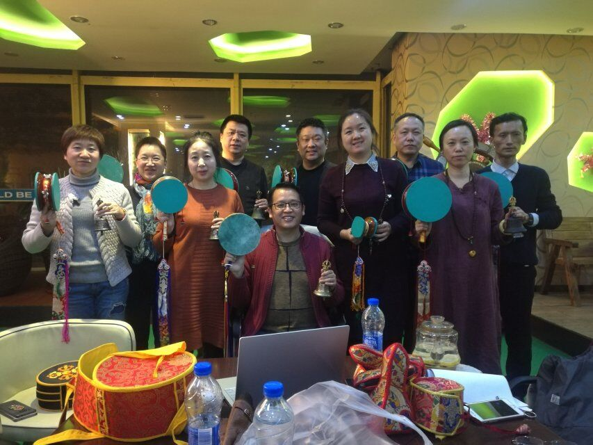 Recent Courses at Samtengar, Jiangxi Province, and Other Venues in China