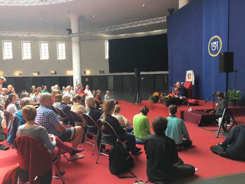 Sangha Retreat 'Postpalast' Munich
