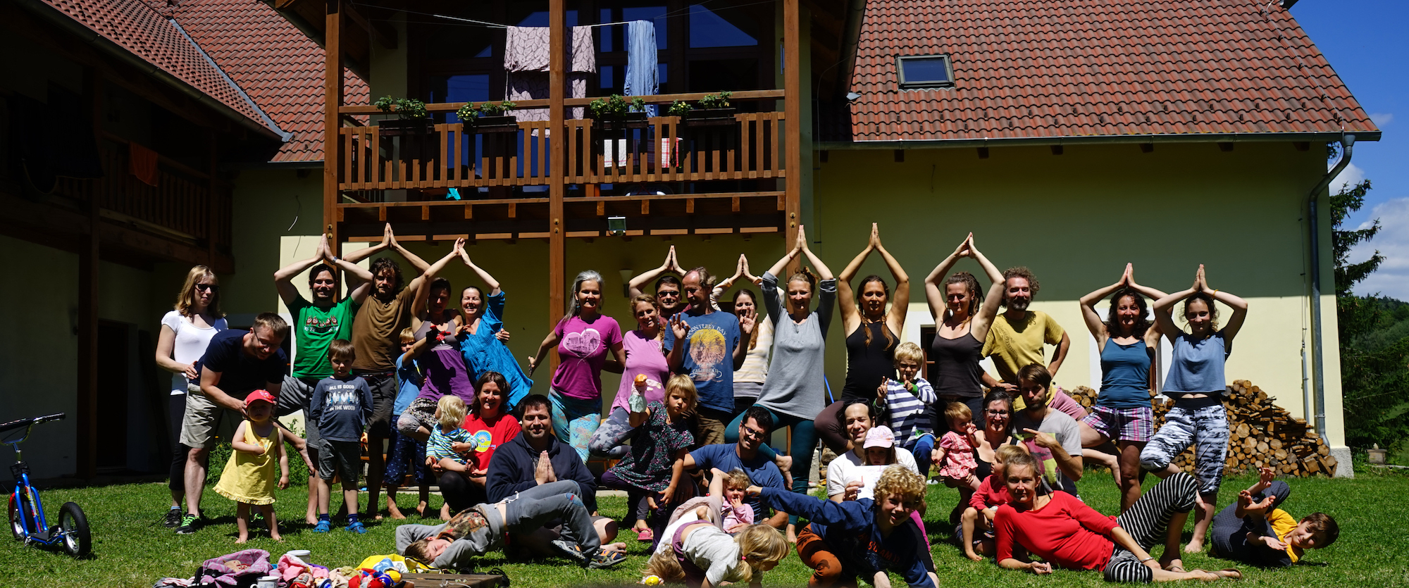 Yantra Yoga Holidays at Phendeling, Czech Republic in 2018