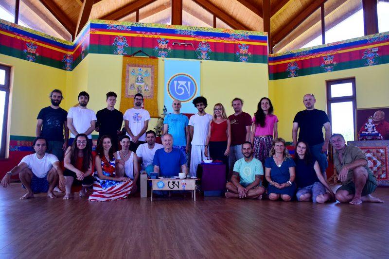 Intense Chod Retreat in Merigar East with Steven Landsberg