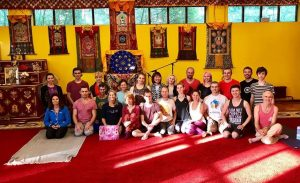 Supervision First Level Yanra Yoga in Kunsangar North 7-11 July 2018